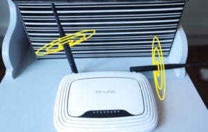 Wi-Fi роутер с двумя антенами