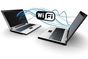 Два ноутбука с Wi-Fi