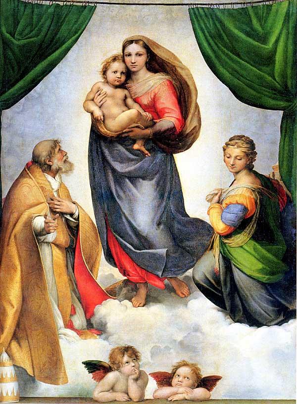 Raphael-sistine-sikstinskaya-madonna